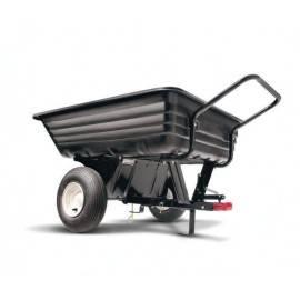 WOLF-Garten vontatható műanyag utánfutó 159 kg fűnyíró traktorhoz