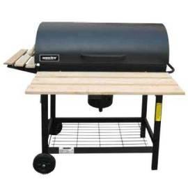 Faszenes kerti grill barell