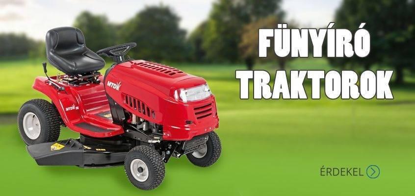 Hecht, MTD, Wolf-garten fűnyíró traktorok